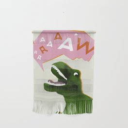 Dinosaur Raw! Wall Hanging