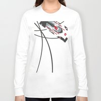 audi Long Sleeve T-shirts featuring e-tron by Cale Funderburk