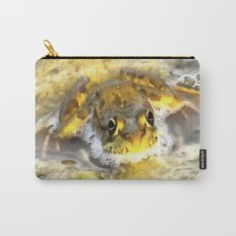 Frog In Deep Water Carry-All Pouch