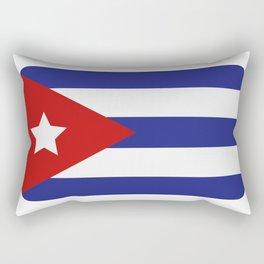 Cuba flag Rectangular Pillow