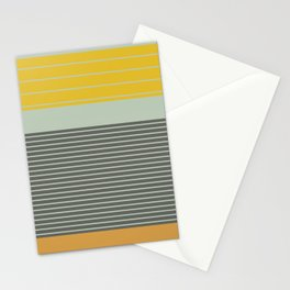 Stripe Pattern III Stationery Cards