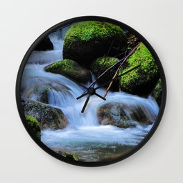 Creek Wall Clock