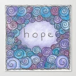 Hope (Little Tiles Series #1) Canvas Print