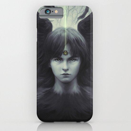 Eye of Raven iPhone & iPod Case