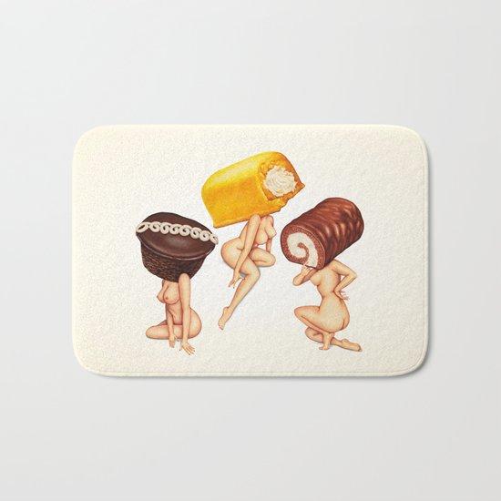 Hostess Cake Girls Bath Mat