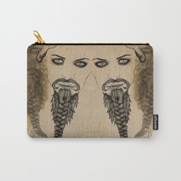 The Bearded Lady Olga  Carry-All Pouch