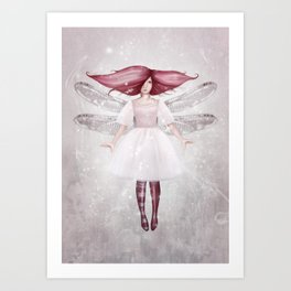 Candy Floss Art Print