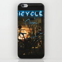 bicycles iPhone & iPod Skins featuring Bicycles   by {she tells stories}