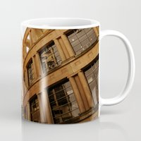 library Mugs featuring Library  by Ethna Gillespie
