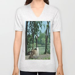 Deluxe Ducks #16 Unisex V-Neck