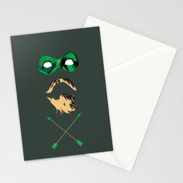Green Arrow Stationery Cards