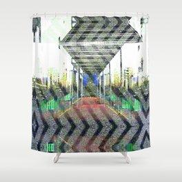 Ornate haste gyp judge. Shower Curtain
