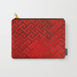 Celtic Pattern Red Carry-All Pouch