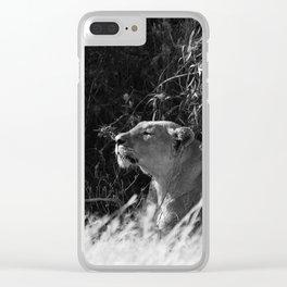 Huntress II Clear iPhone Case