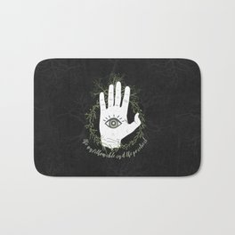 Adam, The Magician - The Raven Cycle Bath Mat
