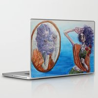 mirror Laptop & iPad Skins featuring Mirror by Katy Dai