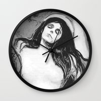 madonna Wall Clocks featuring Madonna by The Invisible Shop