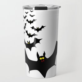 Isolated Bats Travel Mug