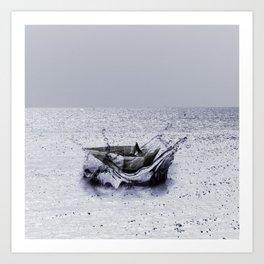 Rock The Boat Art Print