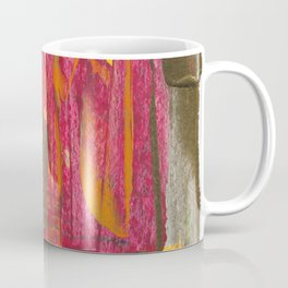 A Man Alone During Sunset Abstract Fine Art Coffee Mug