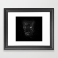 Space Panther Framed Art Print