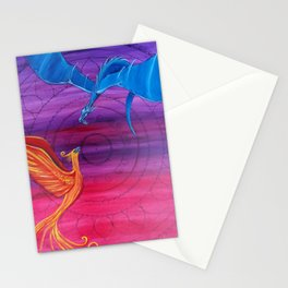 Everlasting Love - Dragon and Phoenix Stationery Cards