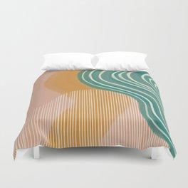 Morning Swim Duvet Cover