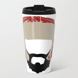 Beards Don't Get Cold Metal Travel Mug