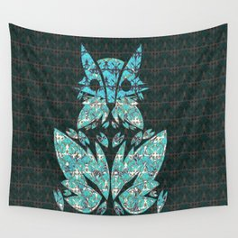 Fox Remixed Wall Tapestry