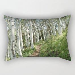 Jud Weibe Trail Telluride Rectangular Pillow