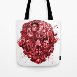 The Essence of Horror [Red] Tote Bag