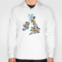 uk Hoodies featuring UK by Project M