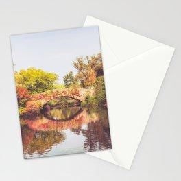 New York City Autumn Bridge Stationery Cards