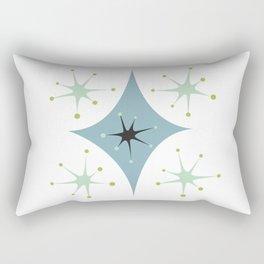 Atomic Age Mid Century Modern Pattern Rectangular Pillow