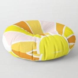 Sun Ray Burst Floor Pillow