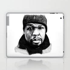50 Cent Pen Drawing Laptop & iPad Skin