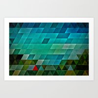 road Art Prints featuring road by Spires