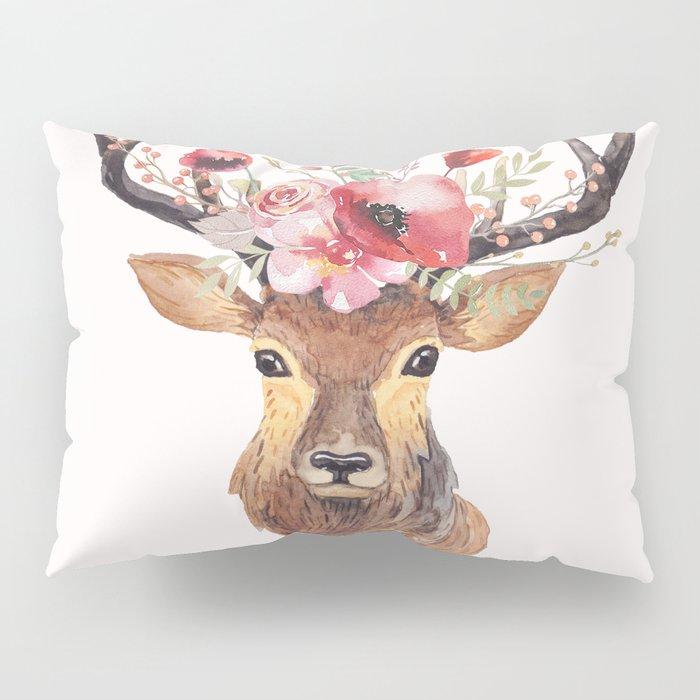 Bohemian Deer Pillow Sham