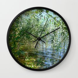 Lake Wall Clock