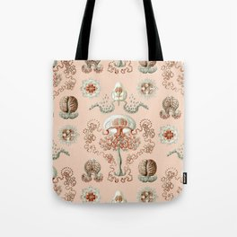 Ernst Haeckel - Jellyfish Scientific Illustration Tote Bag