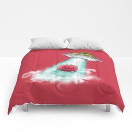 UFO. Italian Spaghetti Dreams Comforters