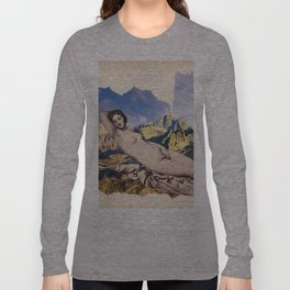 Vintage photo collage #216 Long Sleeve T-shirt