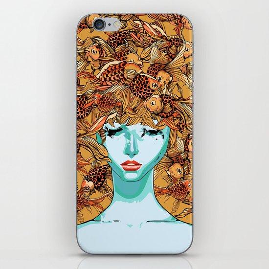 Head up, love iPhone & iPod Skin