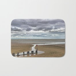 Cleethorpes Beach Lincolnshire Bath Mat