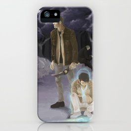 A Moment of Silence iPhone Case