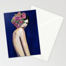 Flower crown Stationery Cards
