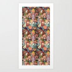Children in Costume Art Print