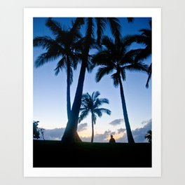 Palm Trees 4 Art Print