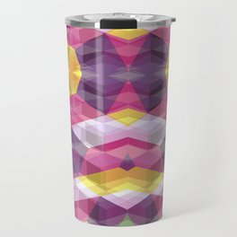 Geometric Bokeh Travel Mug