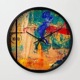 Fish Wish Wall Clock
